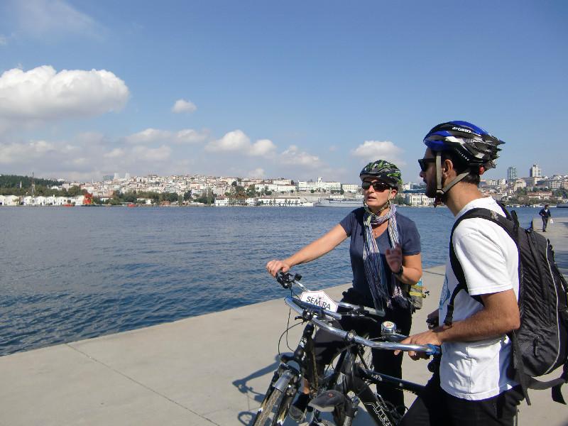 Fietsen Istanbul Gouden Hoorn