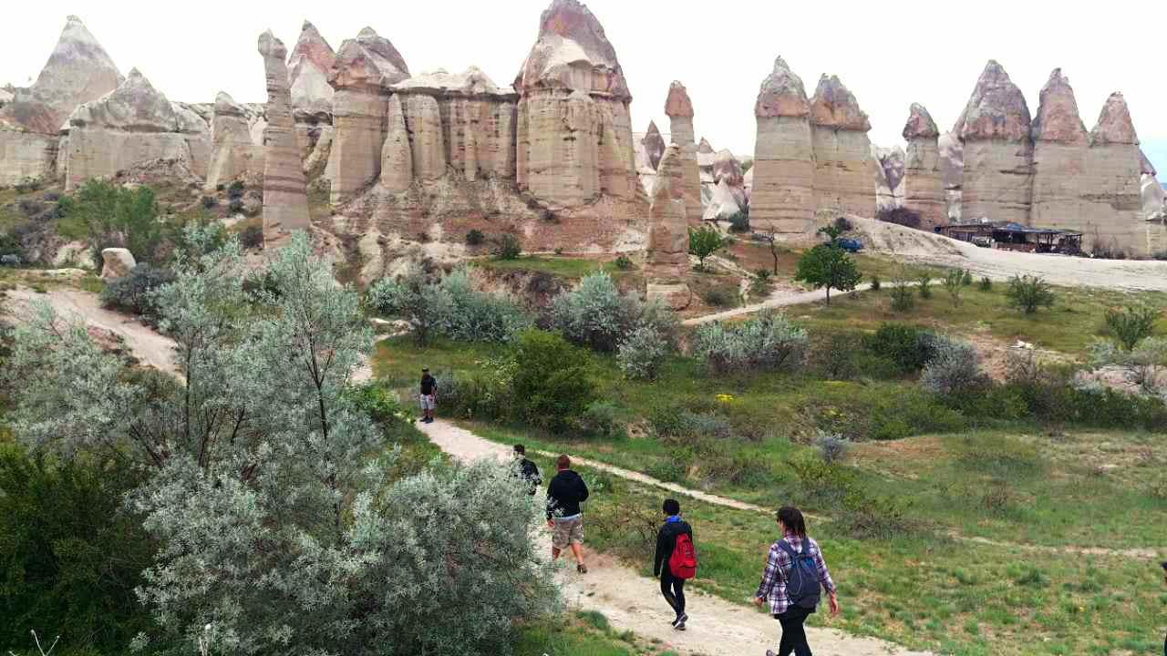 Cappadox love valley wandeling