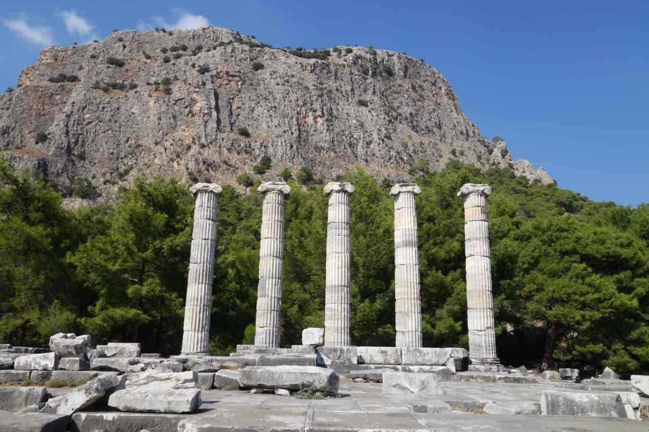 Priene Athene tempel