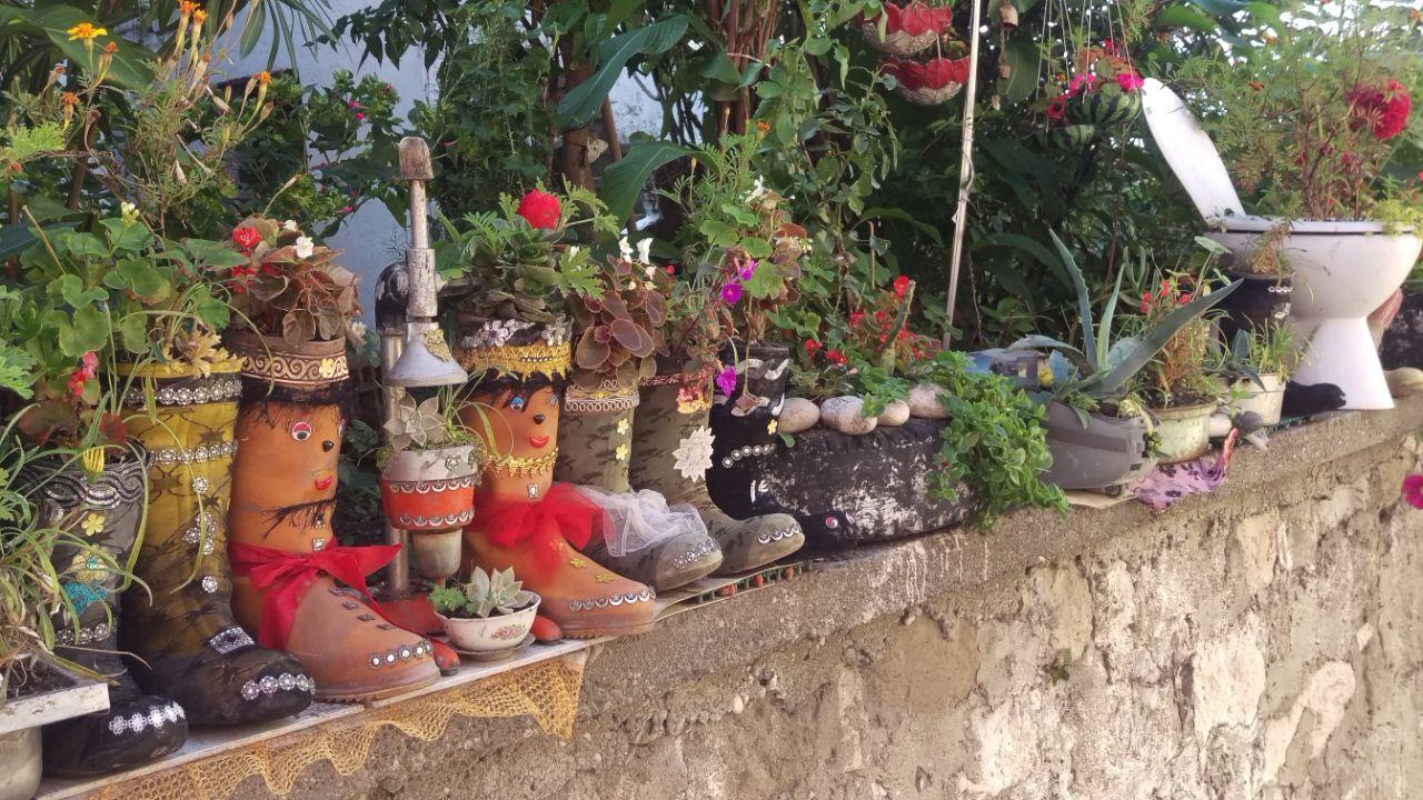 Rondreis Zwarte Zee Amasra creatieve bloempotten