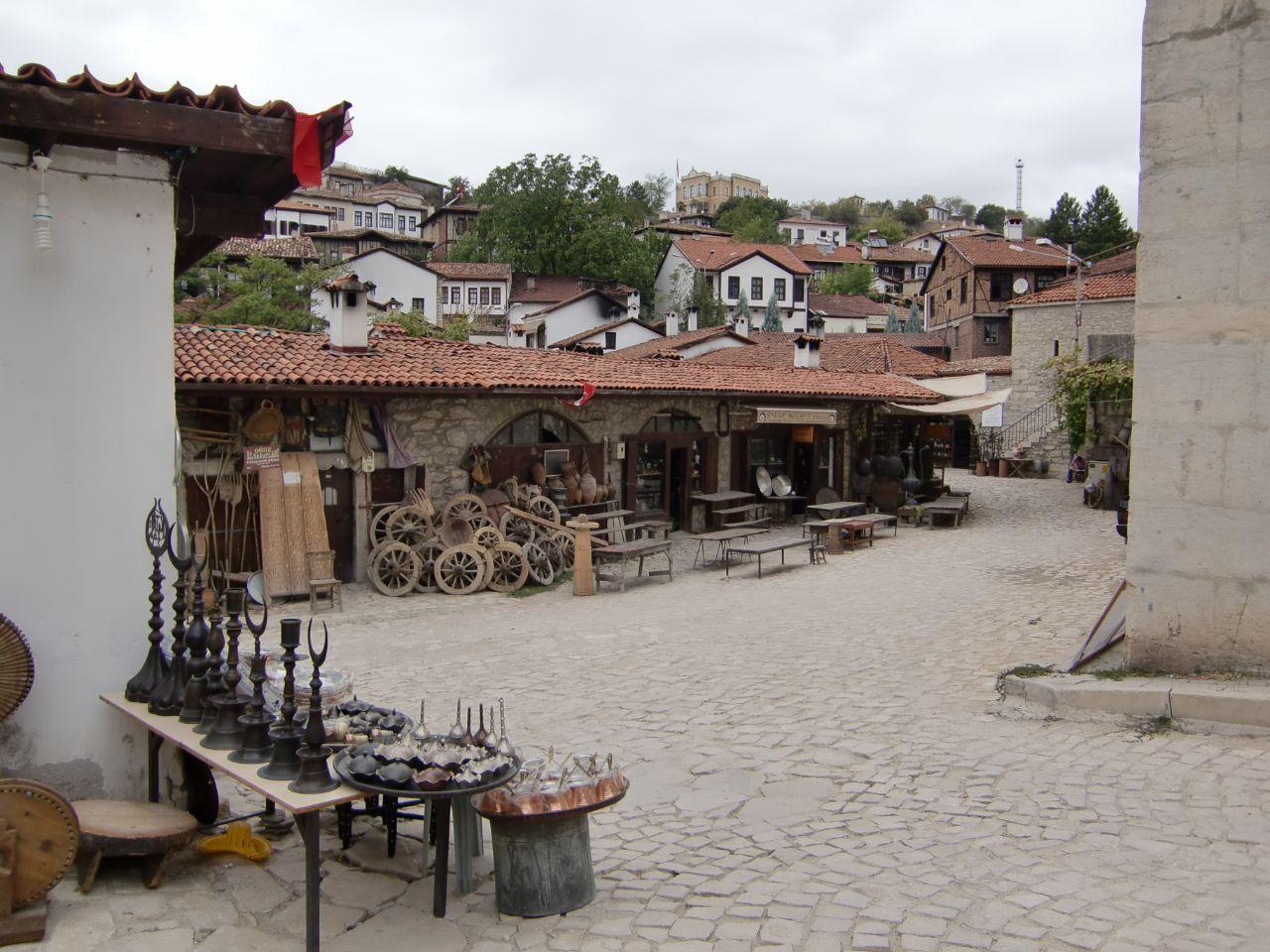 Rondreis Midden Turkije Safranbolu plein