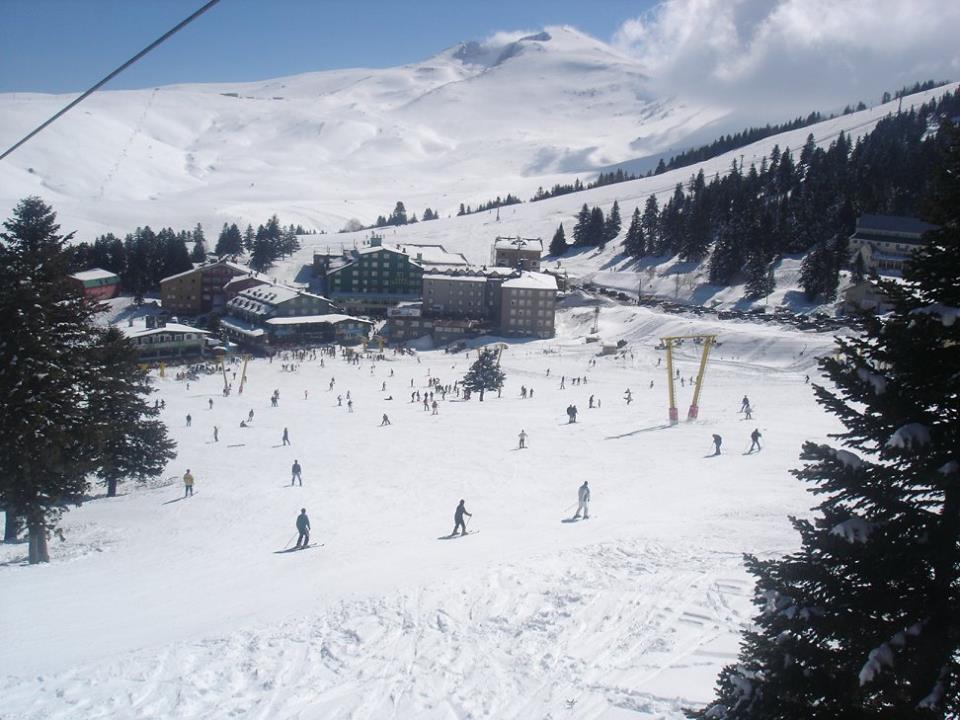 Skiën in Turkije Uludag piste