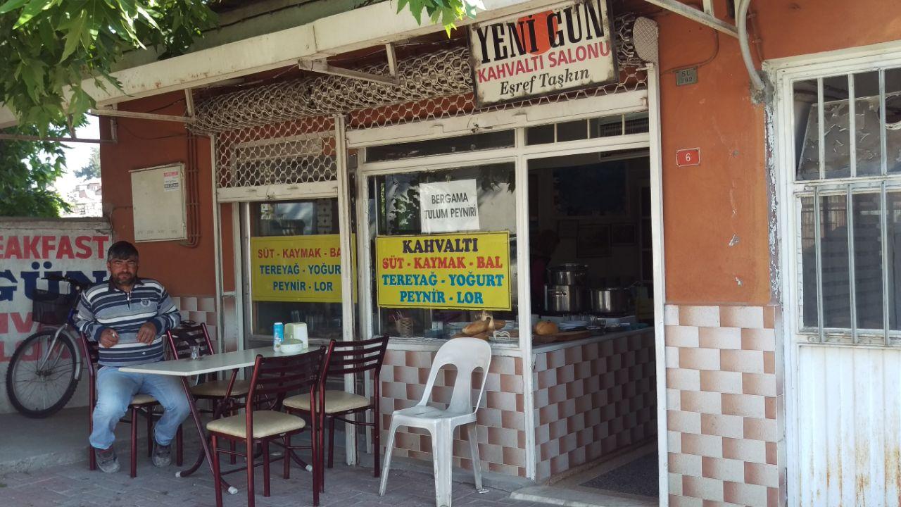 Turks ontbijt Bergama Yenigün