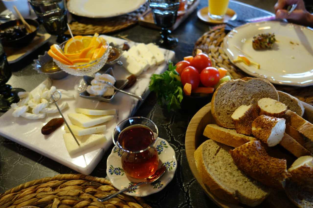 Turks ontbijt Nerdek Cafe Alanya