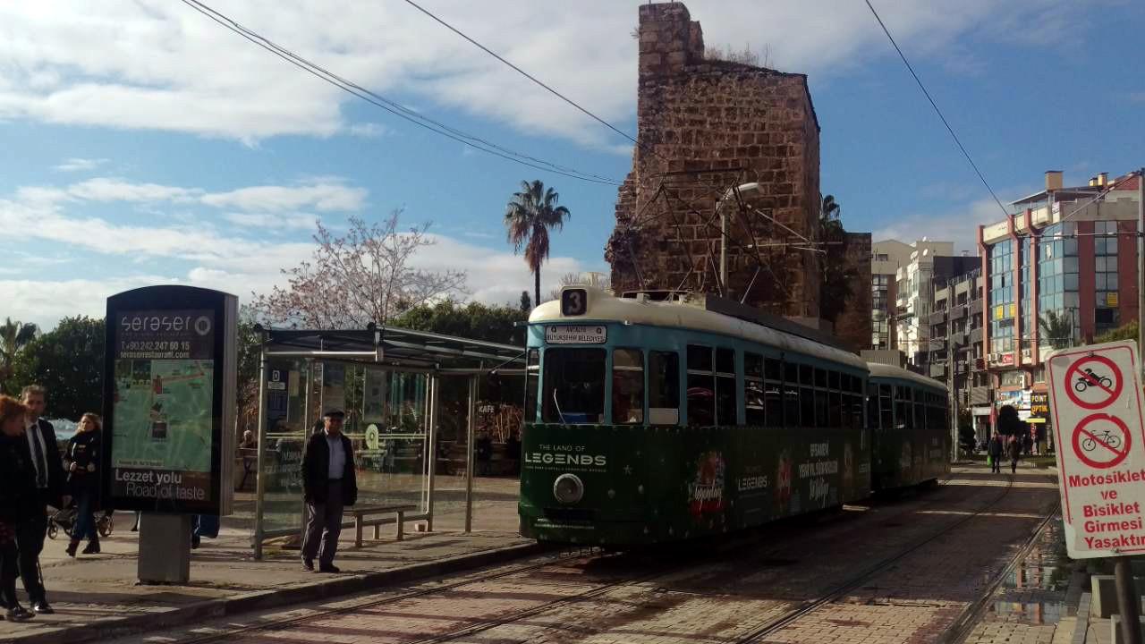 Antalya antieke tram