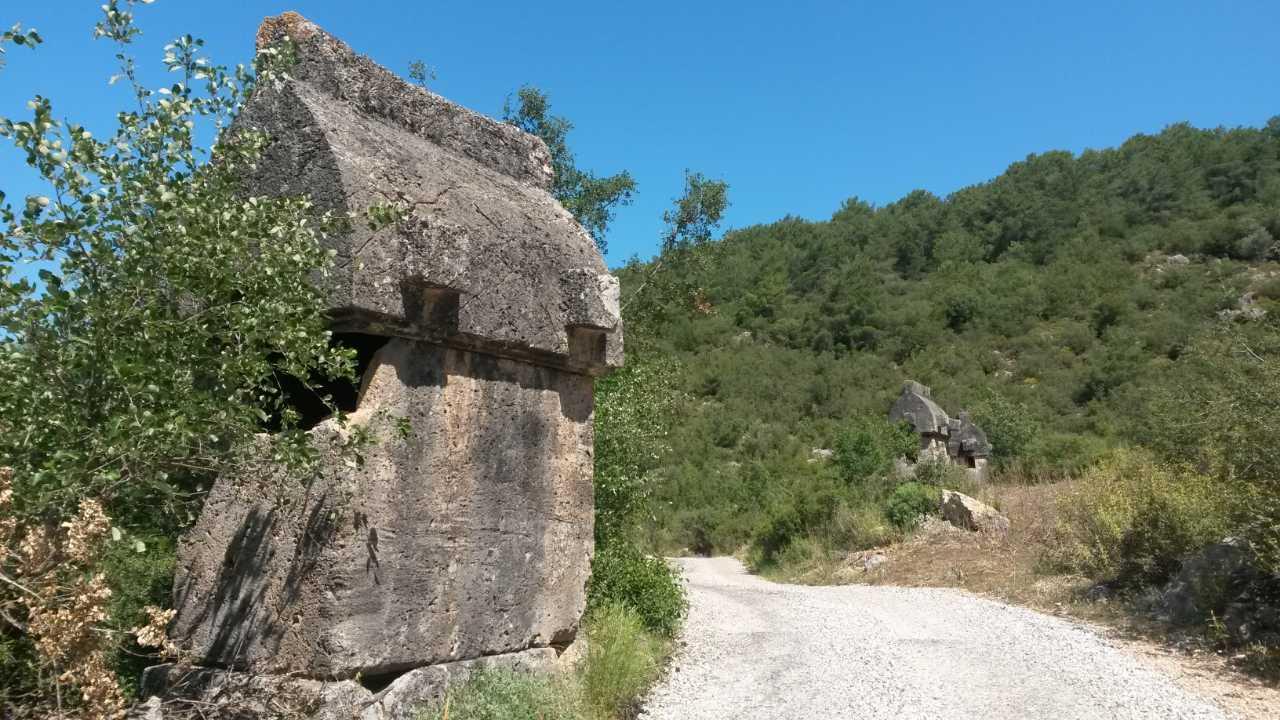Lycian Way Kayaköy sacrofaag