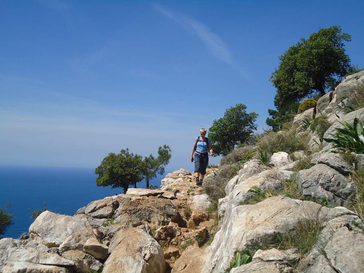 Lycian Way afdaling
