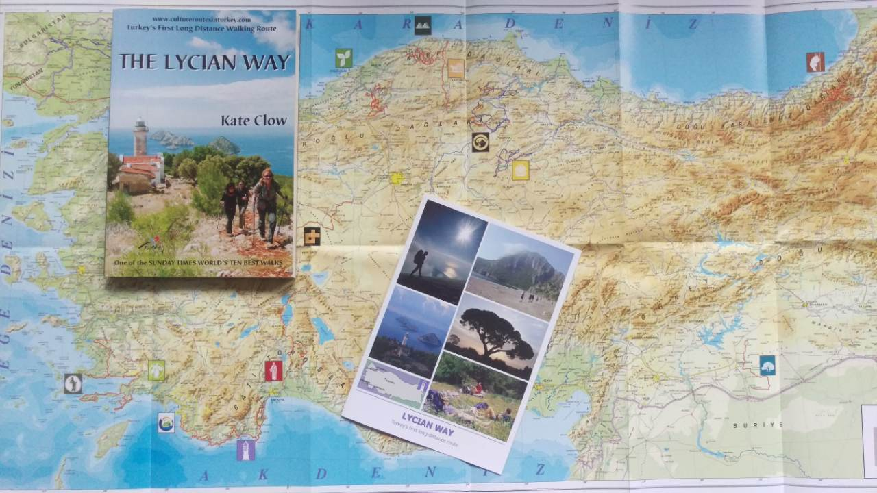 Lycian Way boek Kate Clow