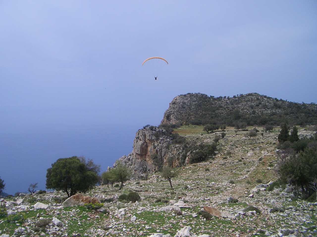 Lycian Way paragliding 2