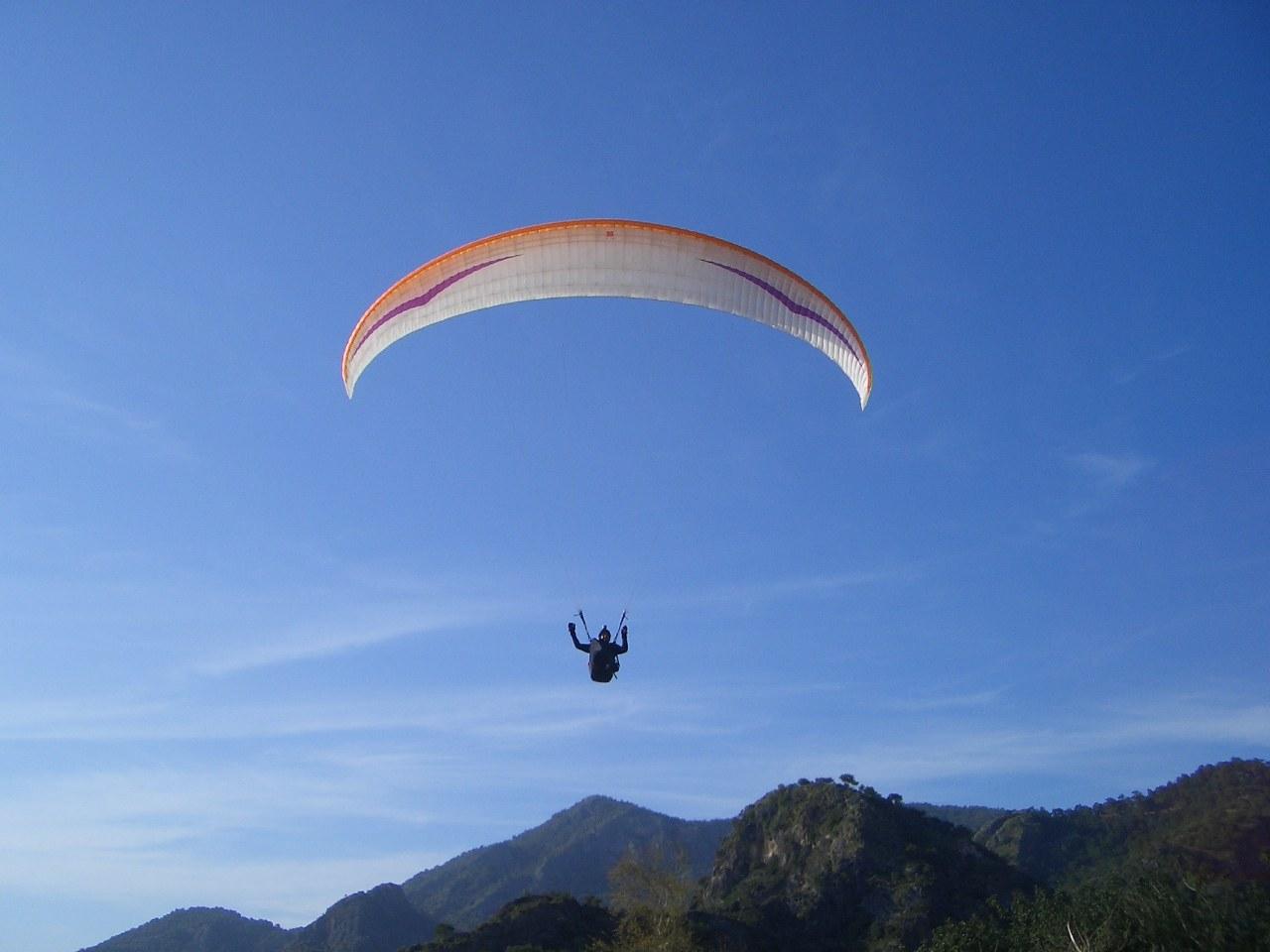 Lycian Way paragliding Babadag