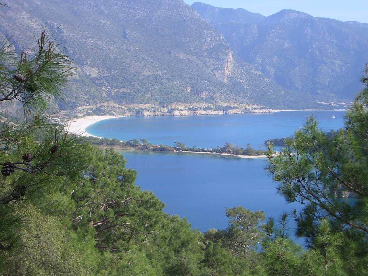 Lycian Way uitzicht Ölüdeniz 2