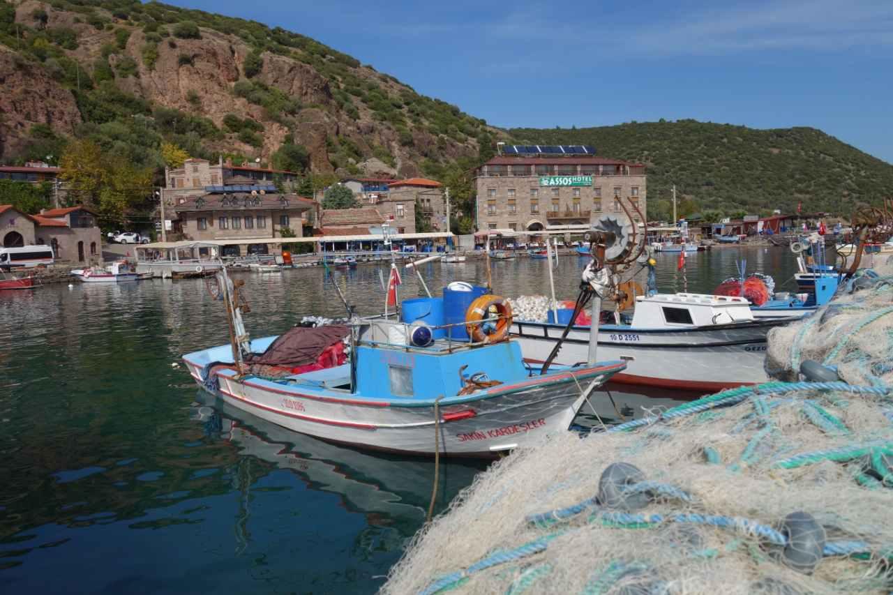 Rondreis Westkust Turkije Assos haven