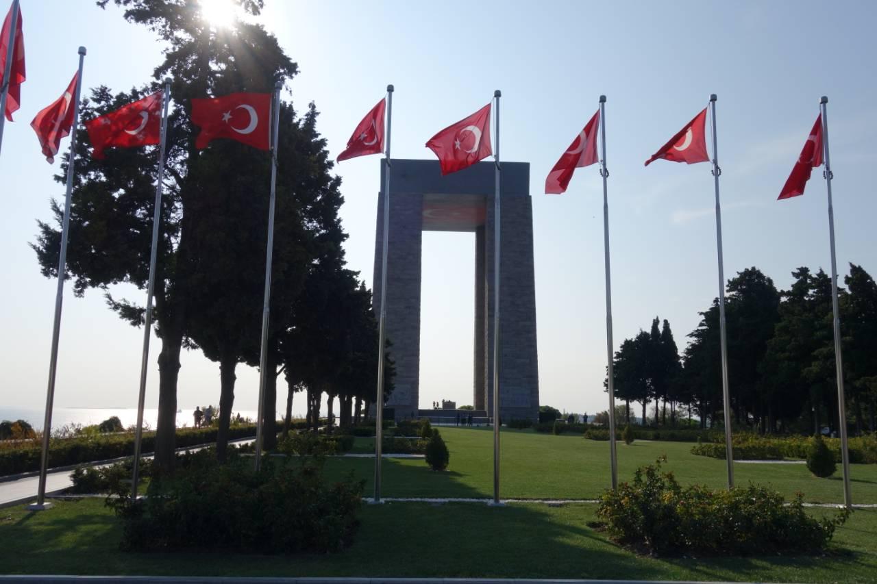 Rondreis Westkust Turkije Gallipoli Canakkale Sehitler Aniti