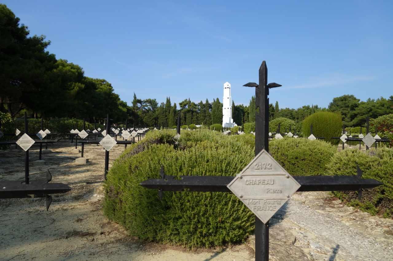 Rondreis Westkust Turkije Gallipoli Franse begraafplaats