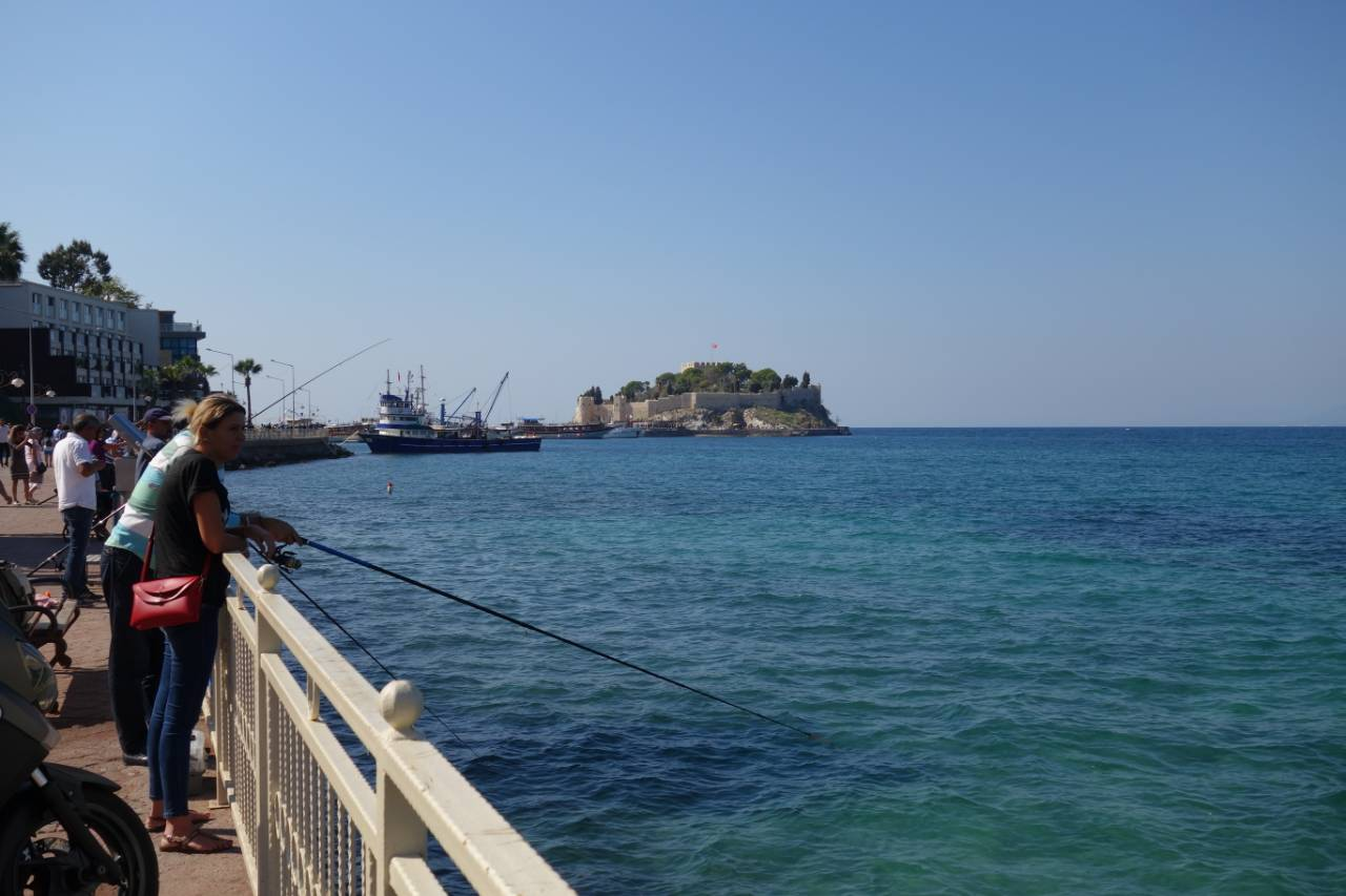 Rondreis Westkust Turkije Kusadasi eiland burcht
