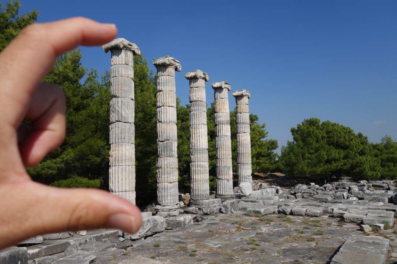 Rondreis Westkust Turkije Priene Athene tempel