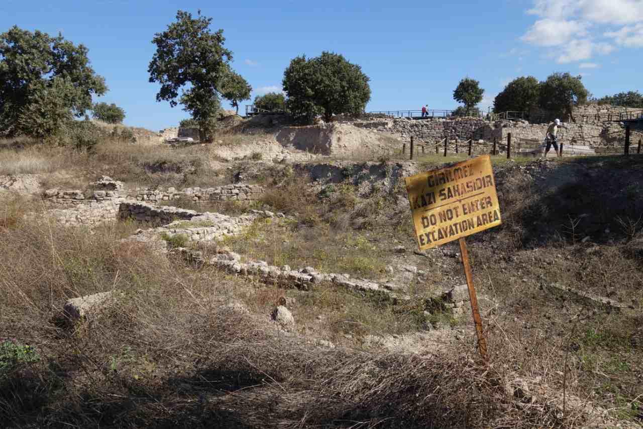 Rondreis Westkust Turkije Troje opgraving
