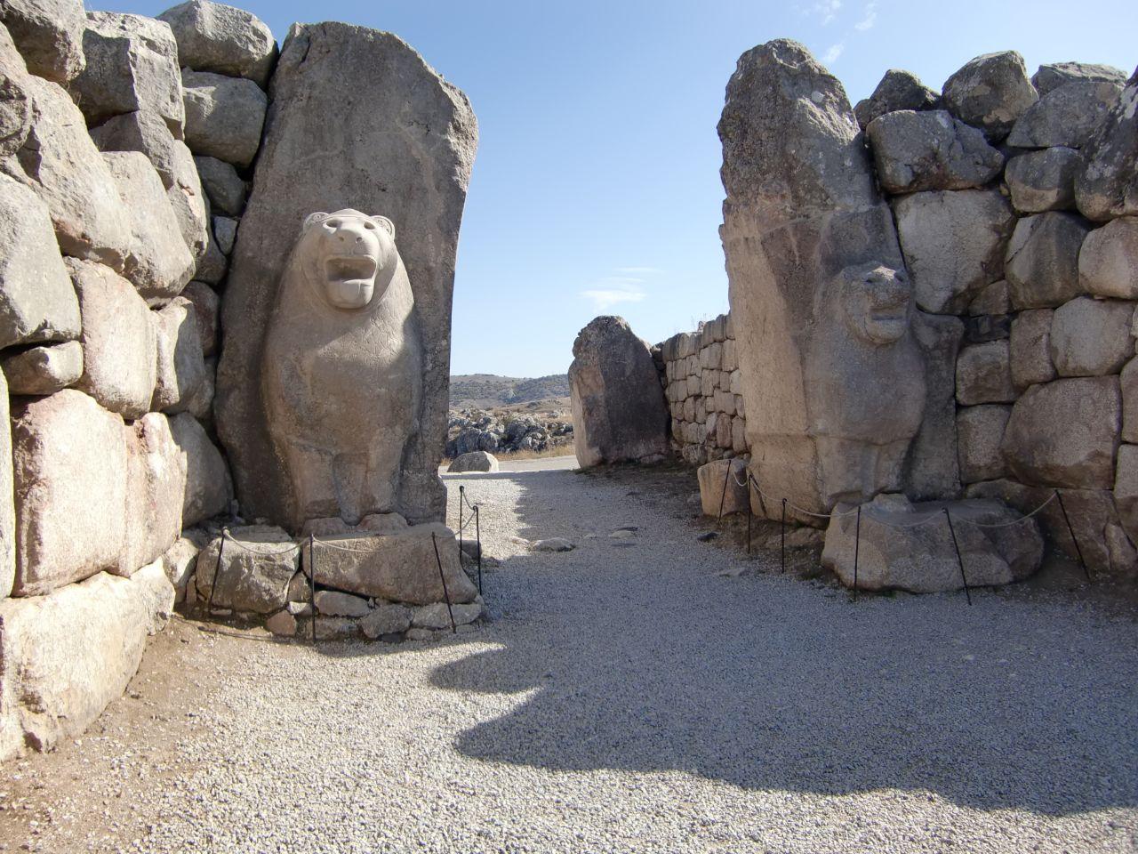 Unesco Hattusa leeuwenpoort