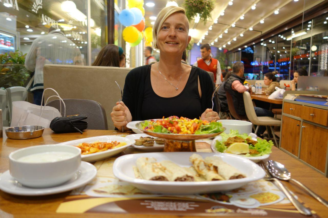 Ankara aspava Yildiz restaurant
