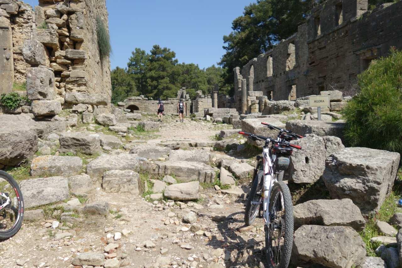 Bikefun Turkije Seleukeia-Lyrbe 1