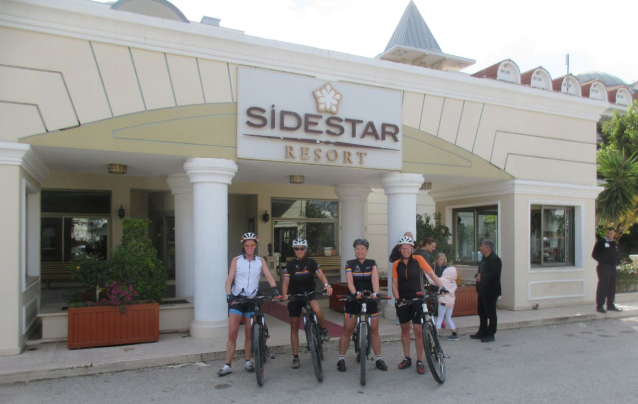 Bikefun Turkije Sidestar Resort