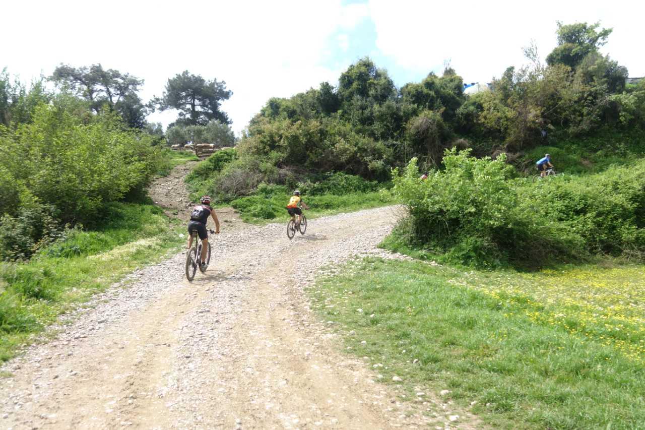 Bikefun Turkije onverhard pad