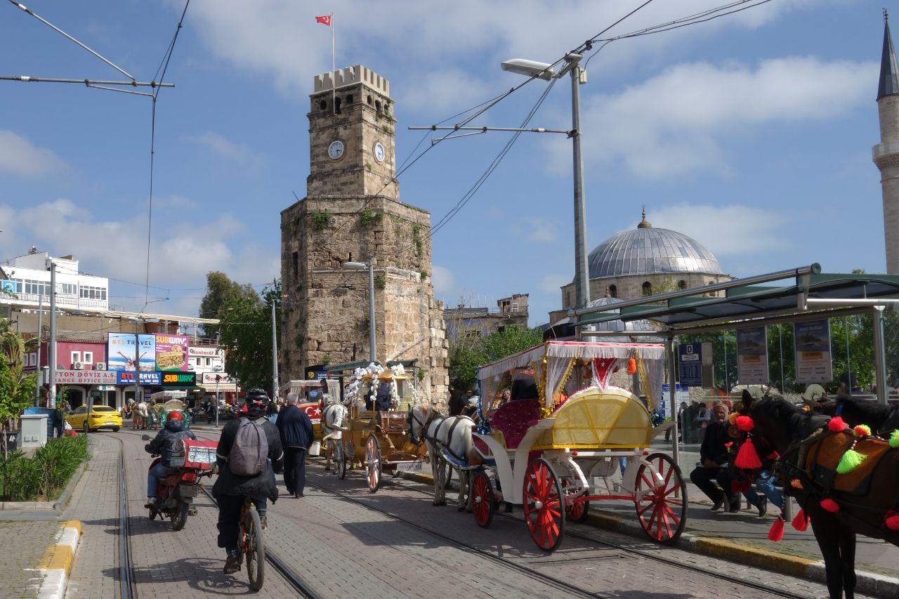 Fietstocht in Antalya trambaan