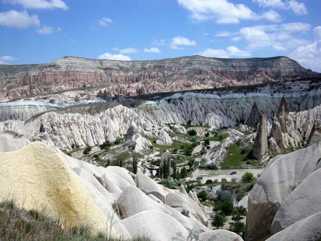 Cappadocië, uitzicht op een van de valleien