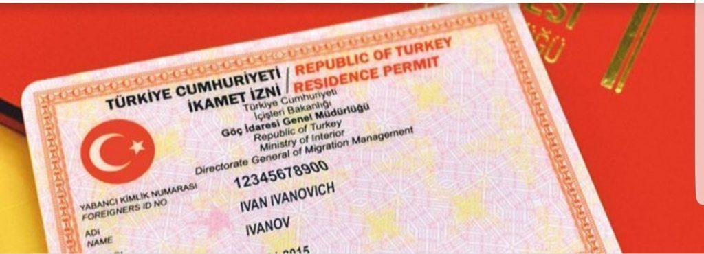 ikamet pasje (verblijfsvergunning turkije)