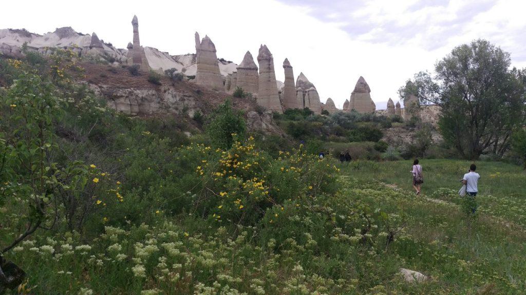 Bagildere vallei Cappadocie