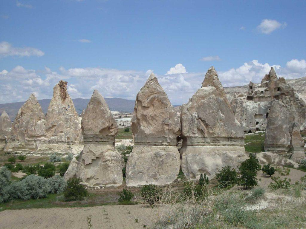 Cappadocie rotsformaties
