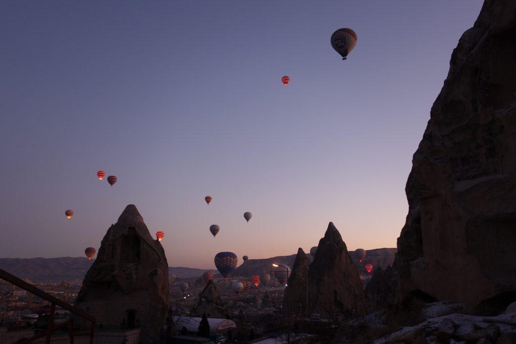 Cappadocie luchtballon Göreme