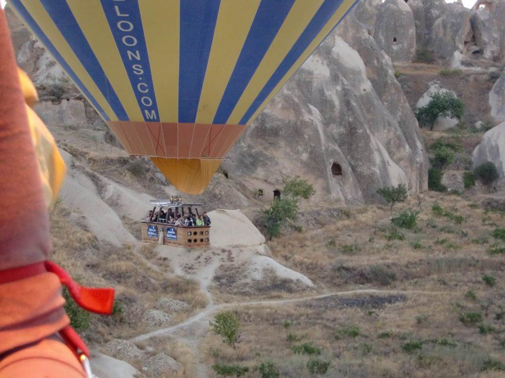 Cappadocie ballonvaren vallei
