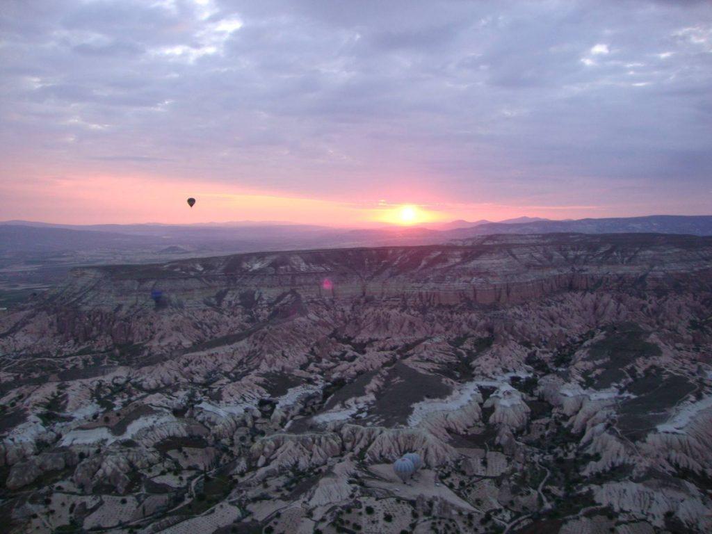 Cappadocie luchtballon zonsopgang
