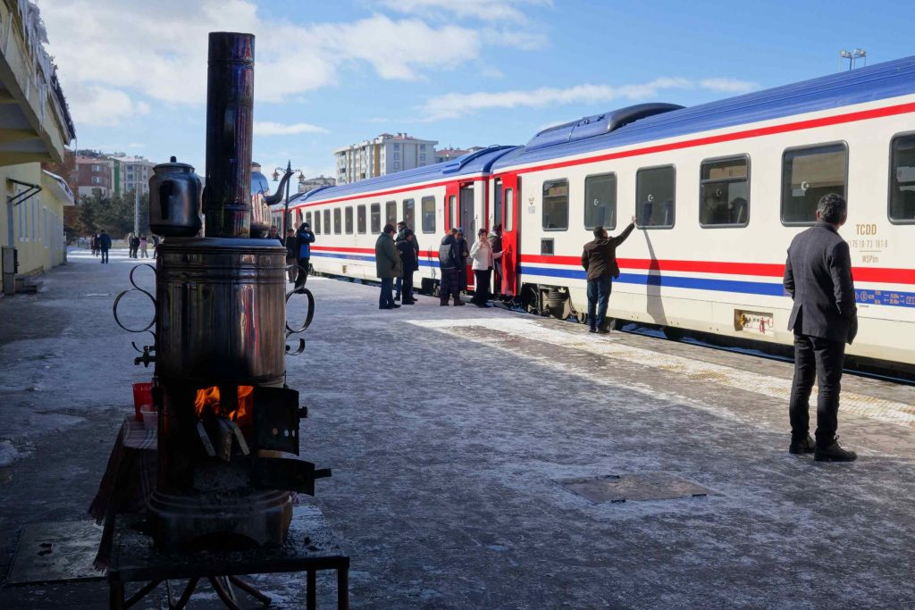 Dogu Express station Erzurum