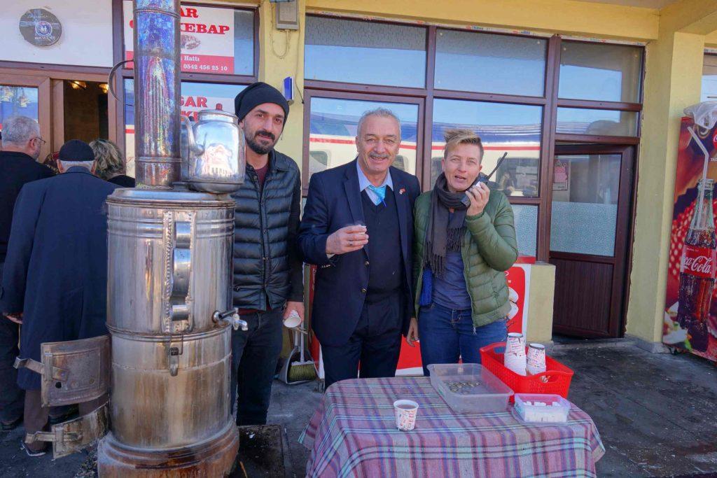 Dogu Express thee station Erzurum