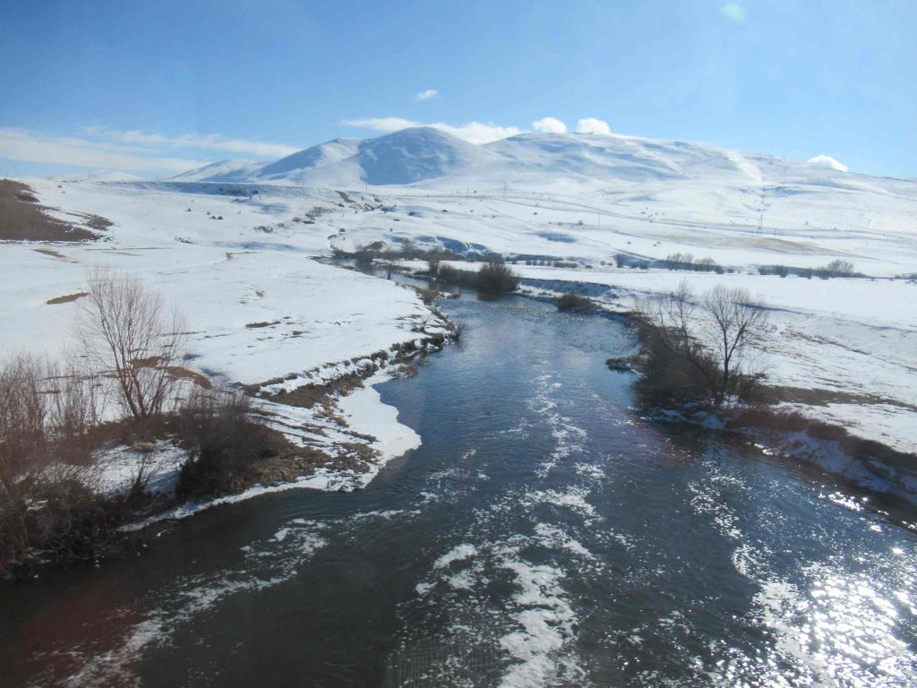 Dogu Express rivier uitzicht
