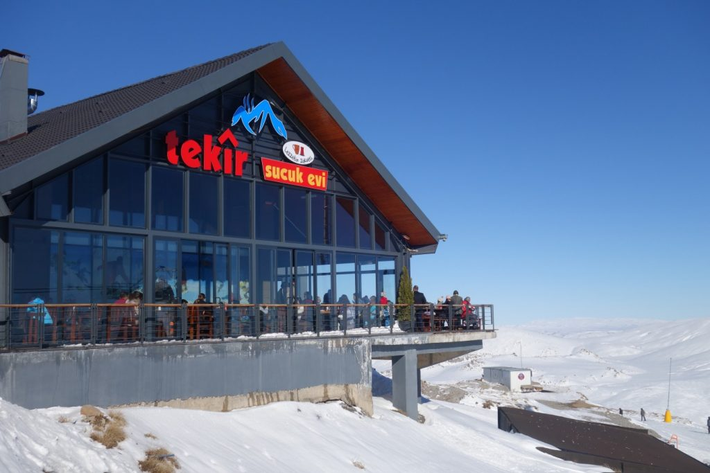 worstrestaurant in Turks skigebied