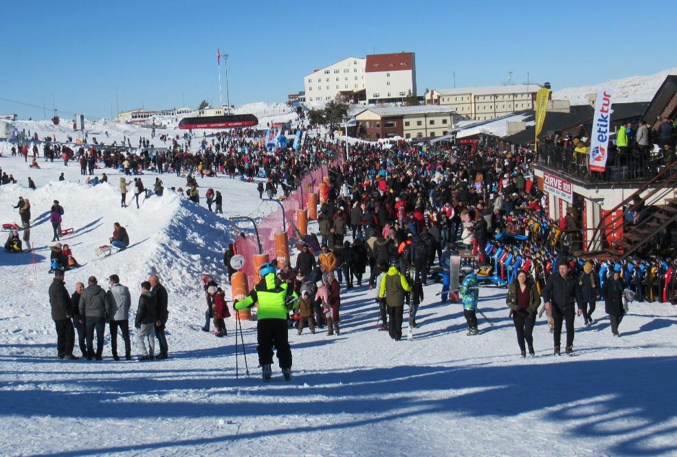 Wintersport op Erciyes, Tekir kapi