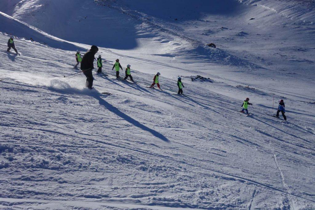 Winterpsort op Erciyes skiklas