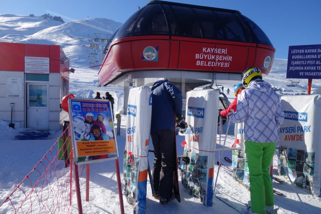 skilift in Turkije