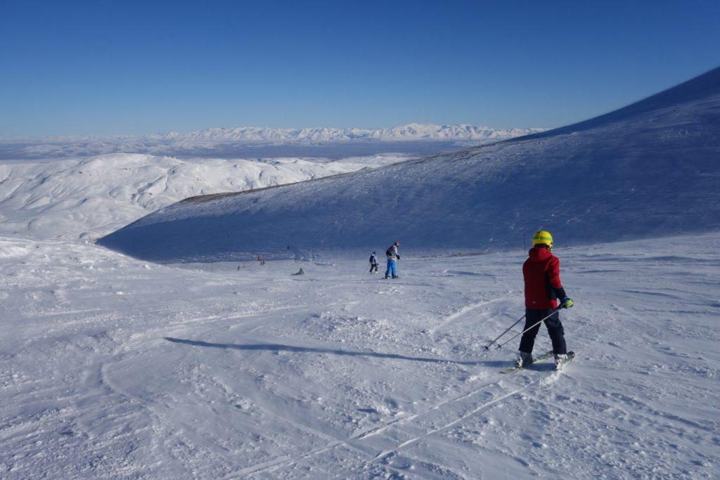 Wintersport op Erciyes, pistes