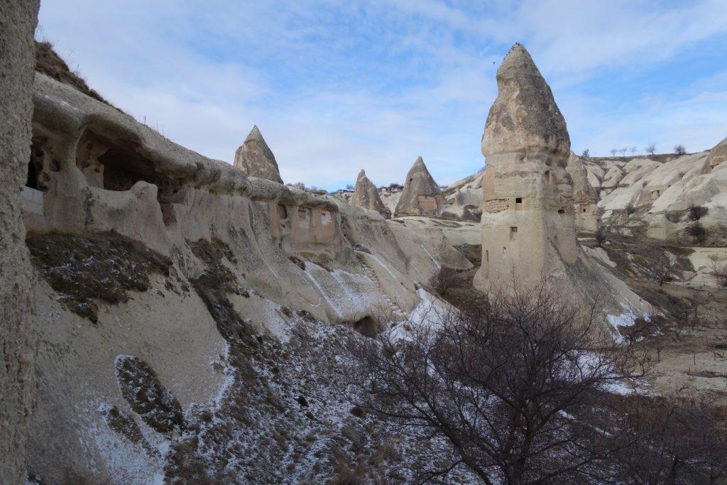 Göreme vallei Cappadocie