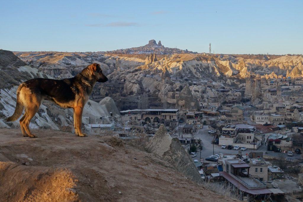 Göreme viewpoint Cappadocie