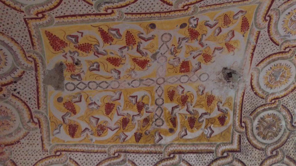 schilderingen druivenkerk Cappadocie