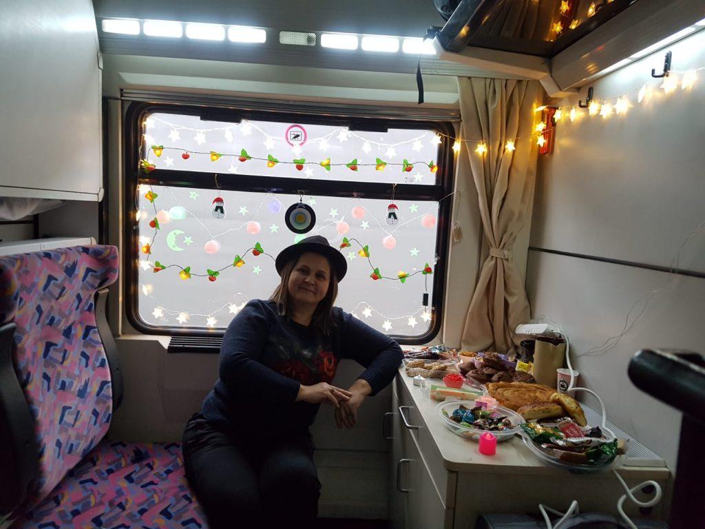 Dogu Express yatakli vagon versieren