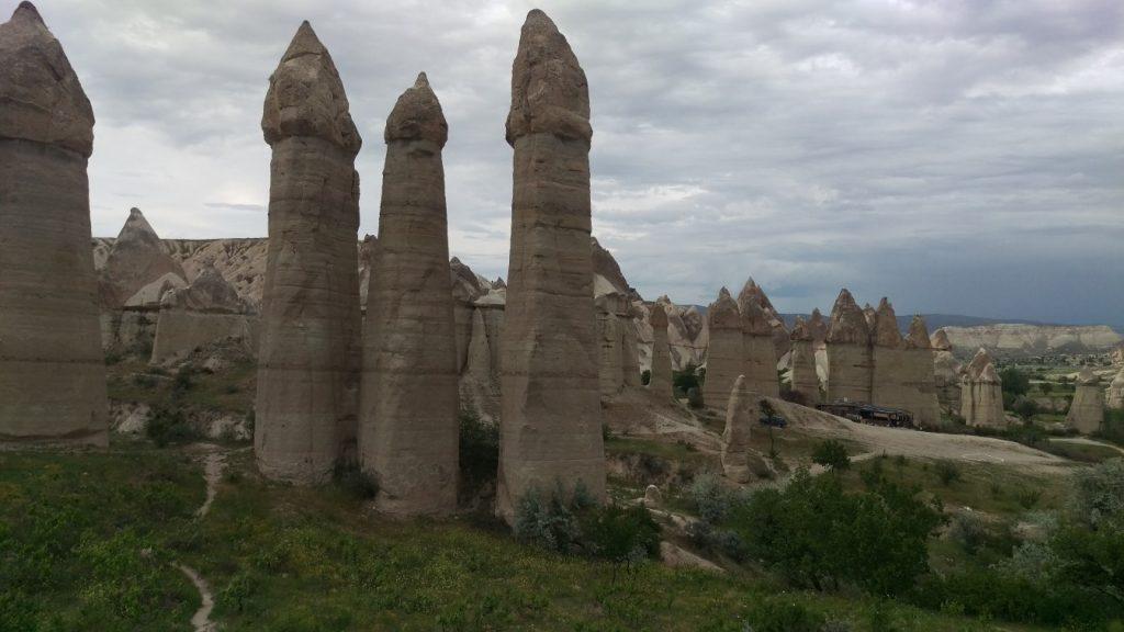 Love valley Cappadocie