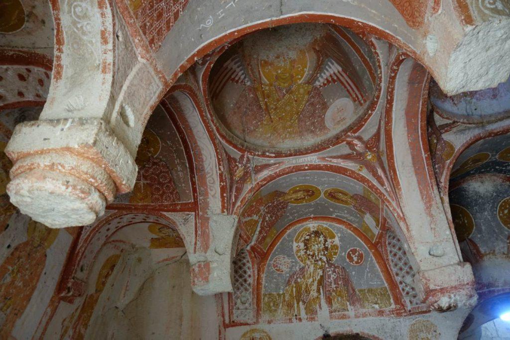 Fresco's in rotskerk Göreme