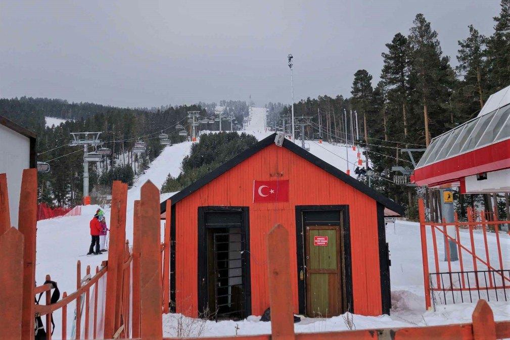 Sarikamis ski resort Turkije