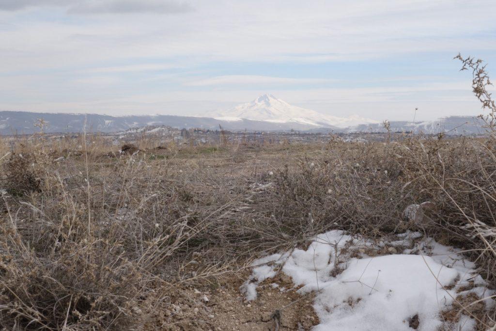Uchisar uitzicht Erciyes